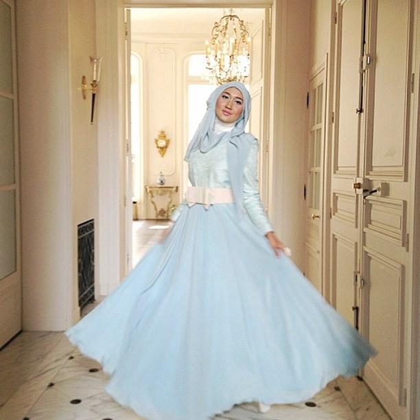 Ide Baju Lebaran Dian Pelangi Ftd8 15 Model Baju Muslim Untuk Pesta Ala Dian Pelangi