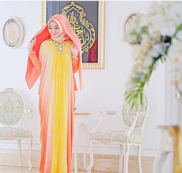 Ide Baju Lebaran Dian Pelangi S1du Trend Model Busana Muslim Dian Pelangi Edisi 2017