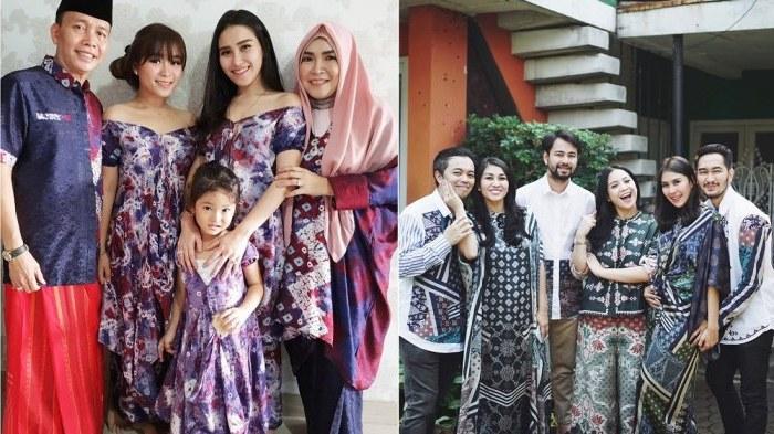 Ide Baju Lebaran Keluarga Besar Dwdk Intip Kompaknya Penampilan Keluarga Selebriti Saat