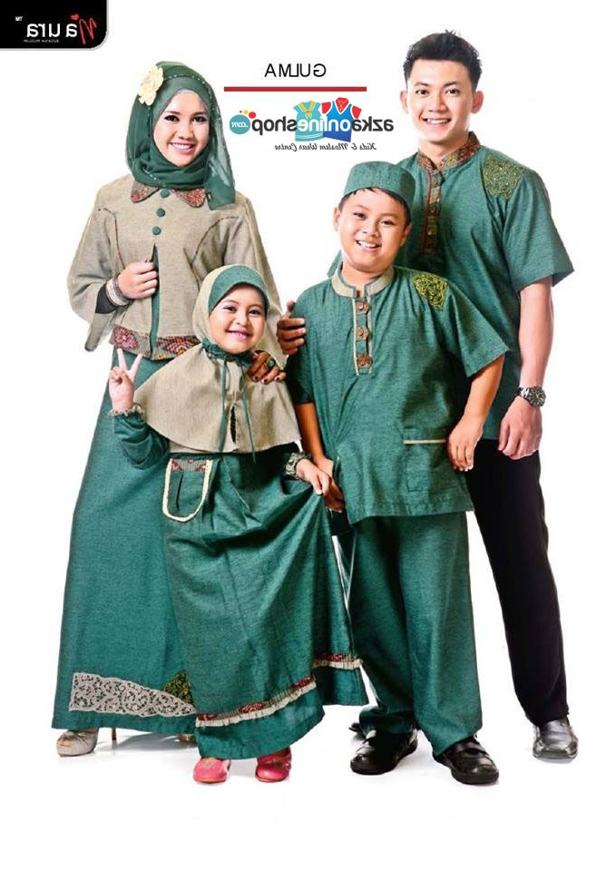 Ide Baju Lebaran Keluarga Tanah Abang Wddj Kumpulan Foto Baju Muslim Sarimbit Keluarga Di Tanah Abang