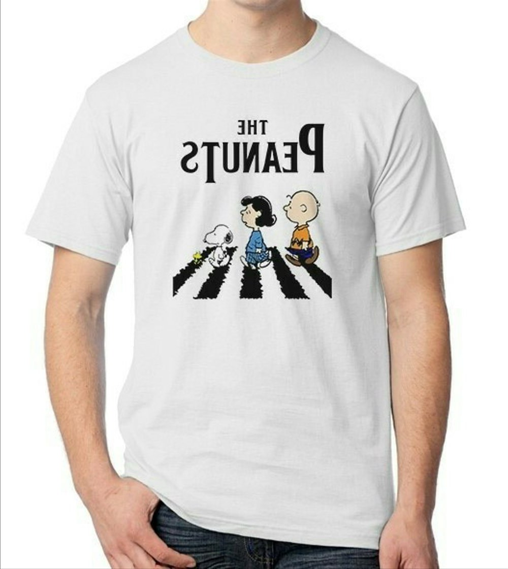 Ide Baju Lebaran Keren Dddy Jual Baju Kaos Distro Kartun the Peanuts Abbey Road Parodi