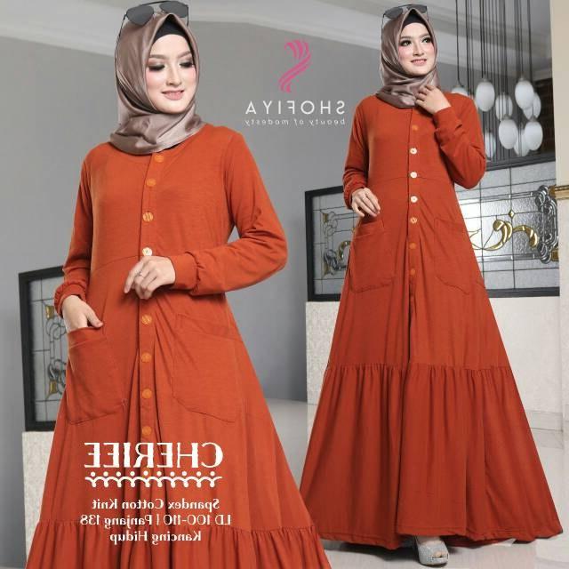 Ide Baju Lebaran Murah Meriah Etdg Baju Gamis Terbaru Murah Meriah Untuk Wanita Muslimah Bwm12