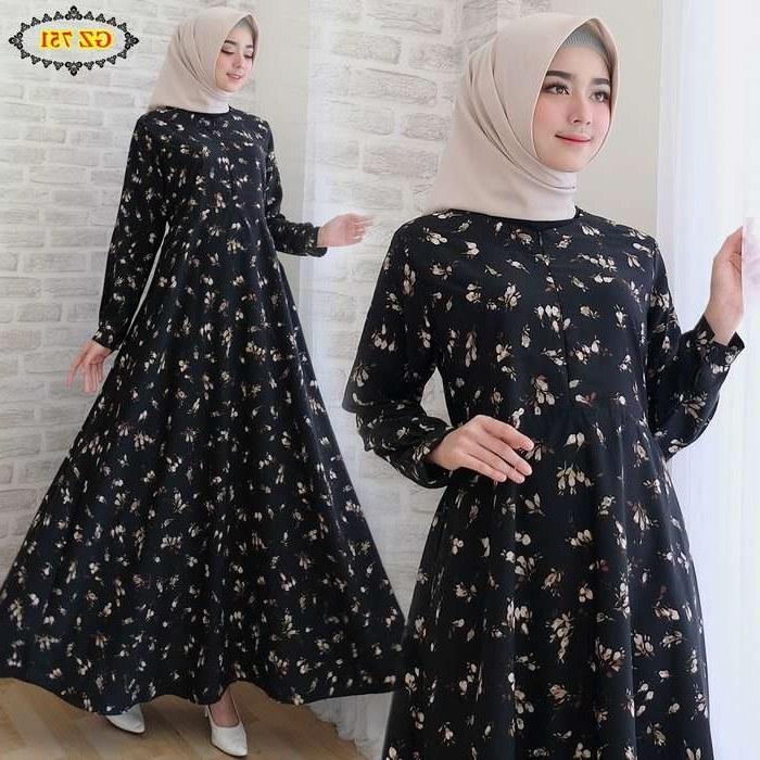 Ide Baju Lebaran Muslim Terbaru Etdg Baju Lebaran Terbaru 2018 Gz751 Model Baju Gamis Terbaru