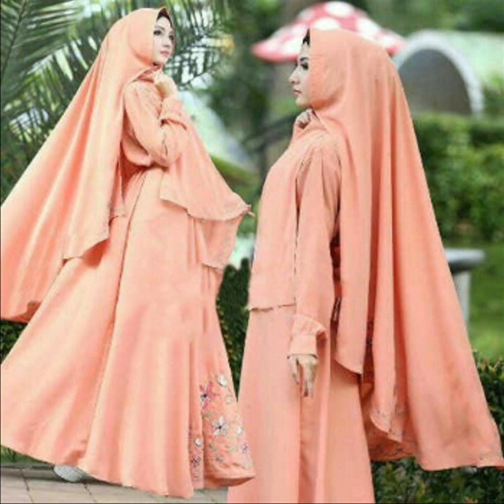 Ide Baju Lebaran Para Artis Q5df Jual Gamis Wanita Wolly Crepe Baju Muslim Busana Muslimah