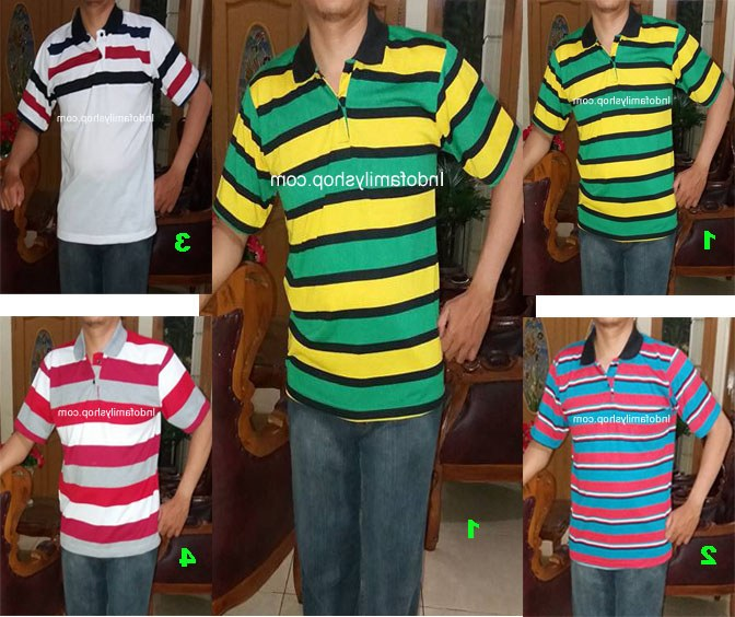 Ide Baju Lebaran Pria Dewasa 3ldq Baju Kaos Kerah Pria Dewasa Trendy 18 – L