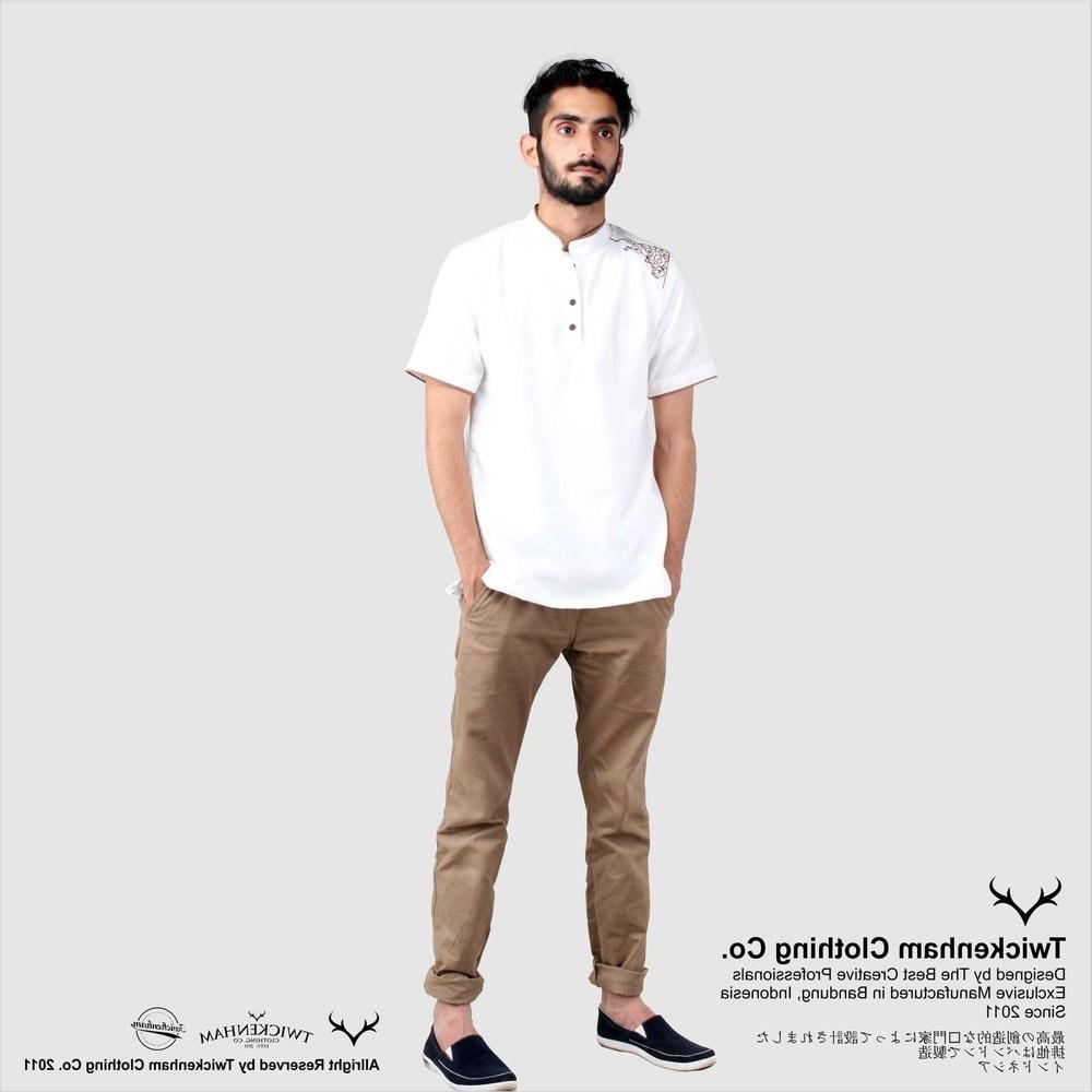 Ide Baju Lebaran Pria Keren Mndw Jual Koko Putih Baju Koko Koko Lebaran Baju Muslim Pria