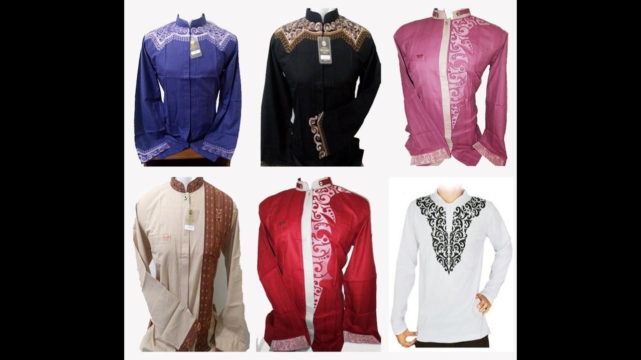 Ide Baju Lebaran Pria Terbaru Q0d4 Contoh Motif Desain Baju Muslim Koko Pria Dewasa Model