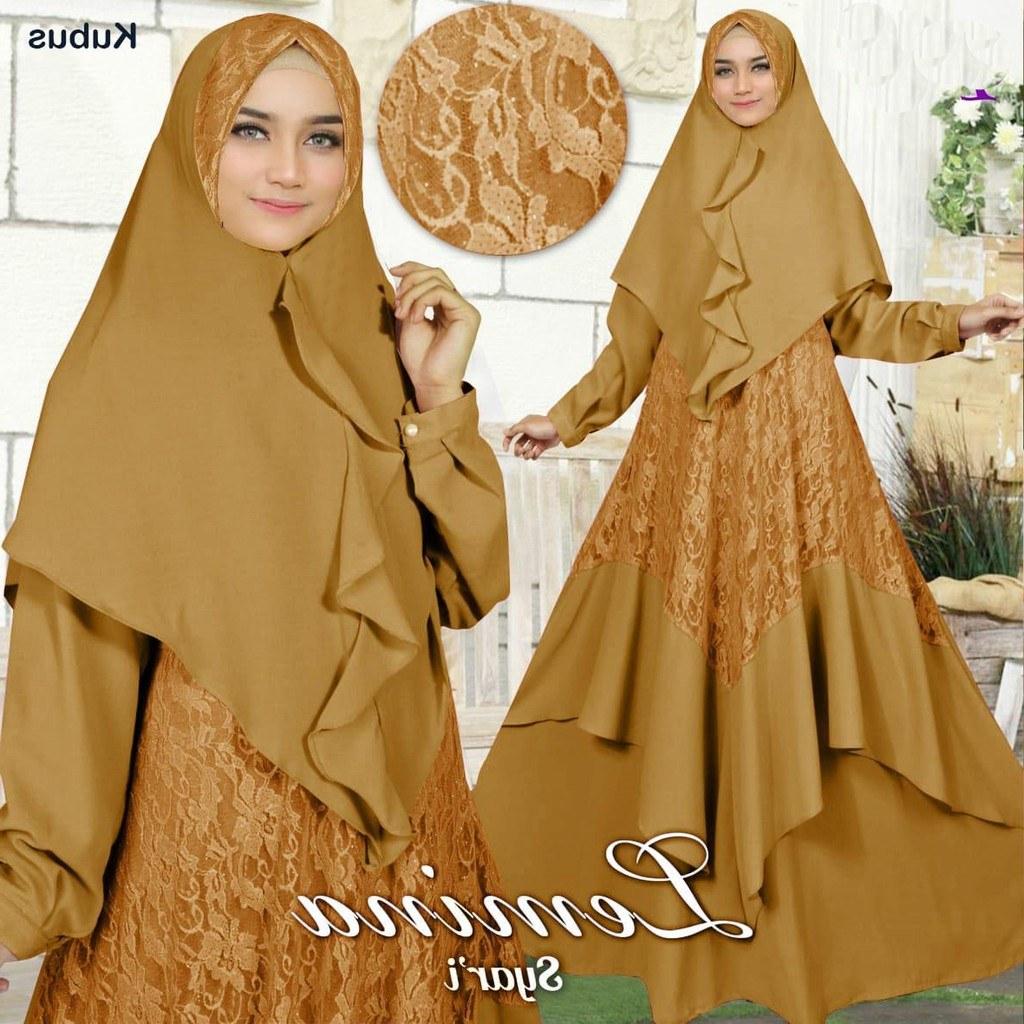 Ide Baju Lebaran Sekarang O2d5 Baju Gamis Terbaru 2019 Des90 Busana Muslim Model