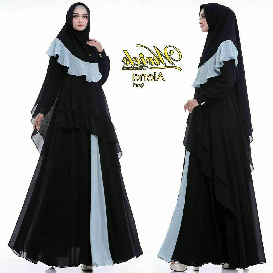 Ide Baju Lebaran Sekarang Rldj Trend Gamis 2018 Busana Muslim Branded Nomiq Store Wa