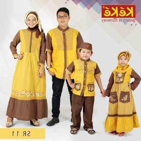 Ide Baju Lebaran Sekeluarga Dddy Jual Baju Muslim Keke Sarimbit Sekeluarga Kota Semarang