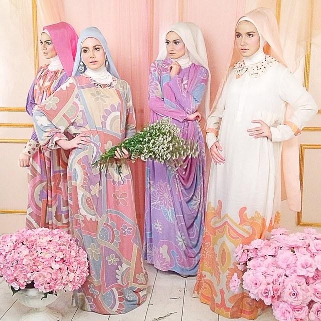 Ide Baju Lebaran Sekeluarga Irdz Baju Muslim Untuk Lebaran Berhijab