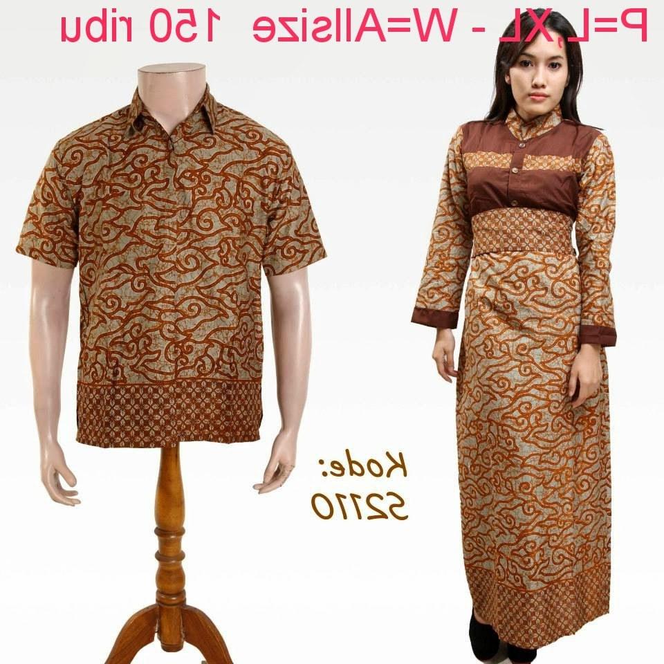 Ide Baju Lebaran Suami istri D0dg Baju Batik Pasangan Suami istri