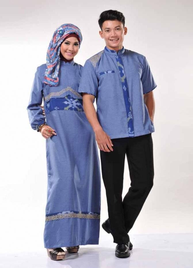 Ide Baju Lebaran Suami istri Zwd9 Info 43 Gambar Baju Muslim Couple Suami istri