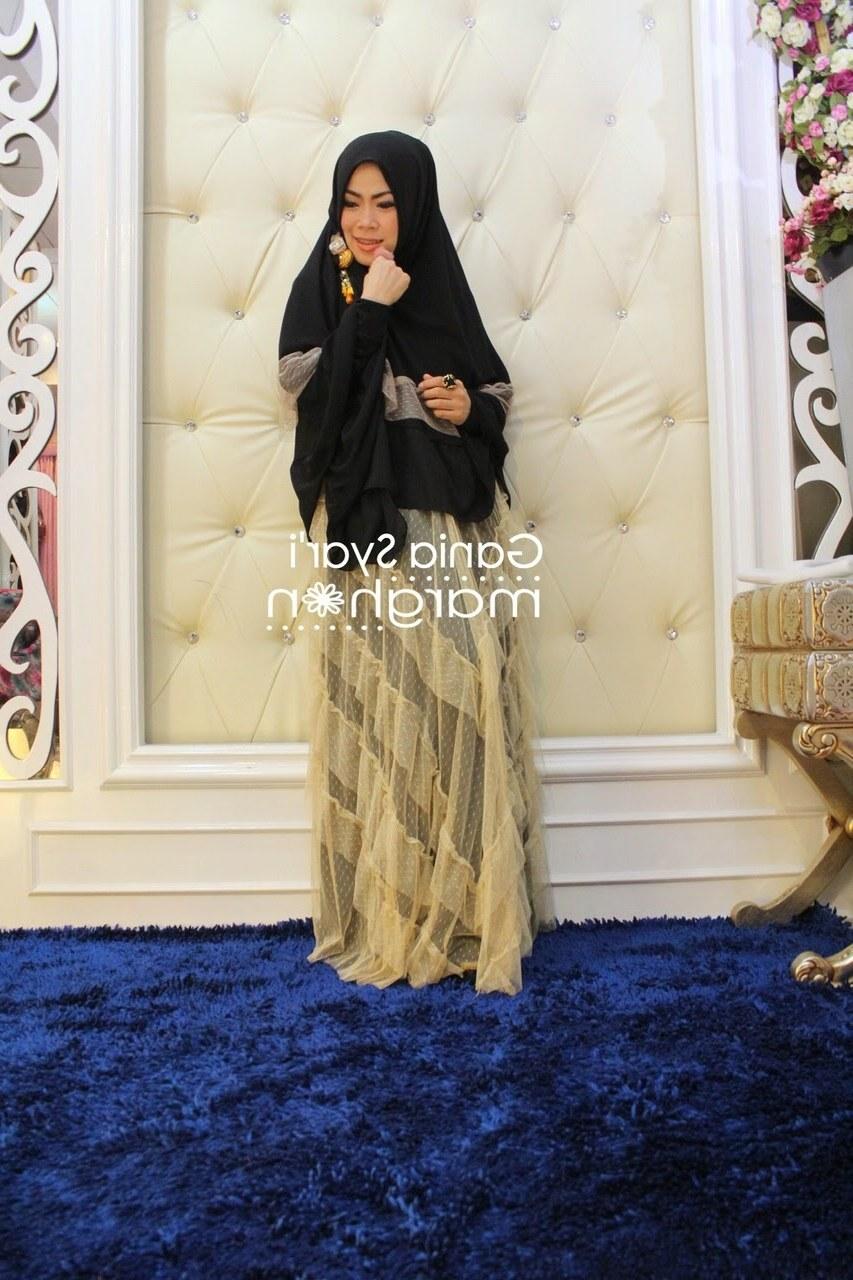 Ide Baju Lebaran Syari H9d9 Baju Muslim Terbaru Lebaran 2015 Gania Syar by Marghon