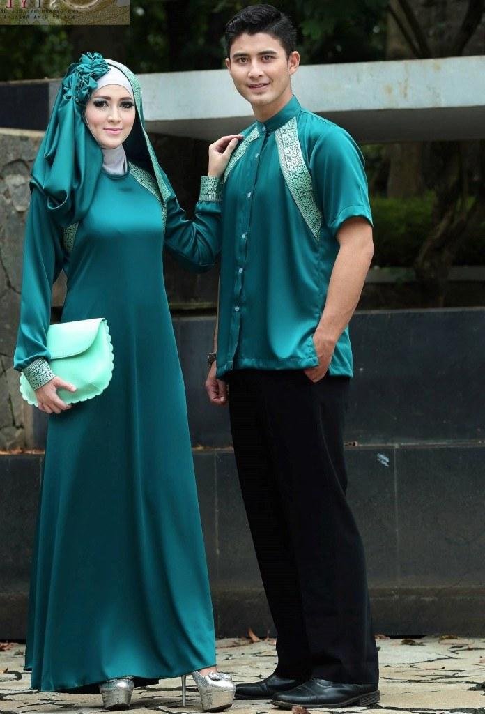 Ide Baju Lebaran Untuk Laki Laki 87dx 9 Model Baju Couple Muslim Untuk Lebaran Dan Pesta