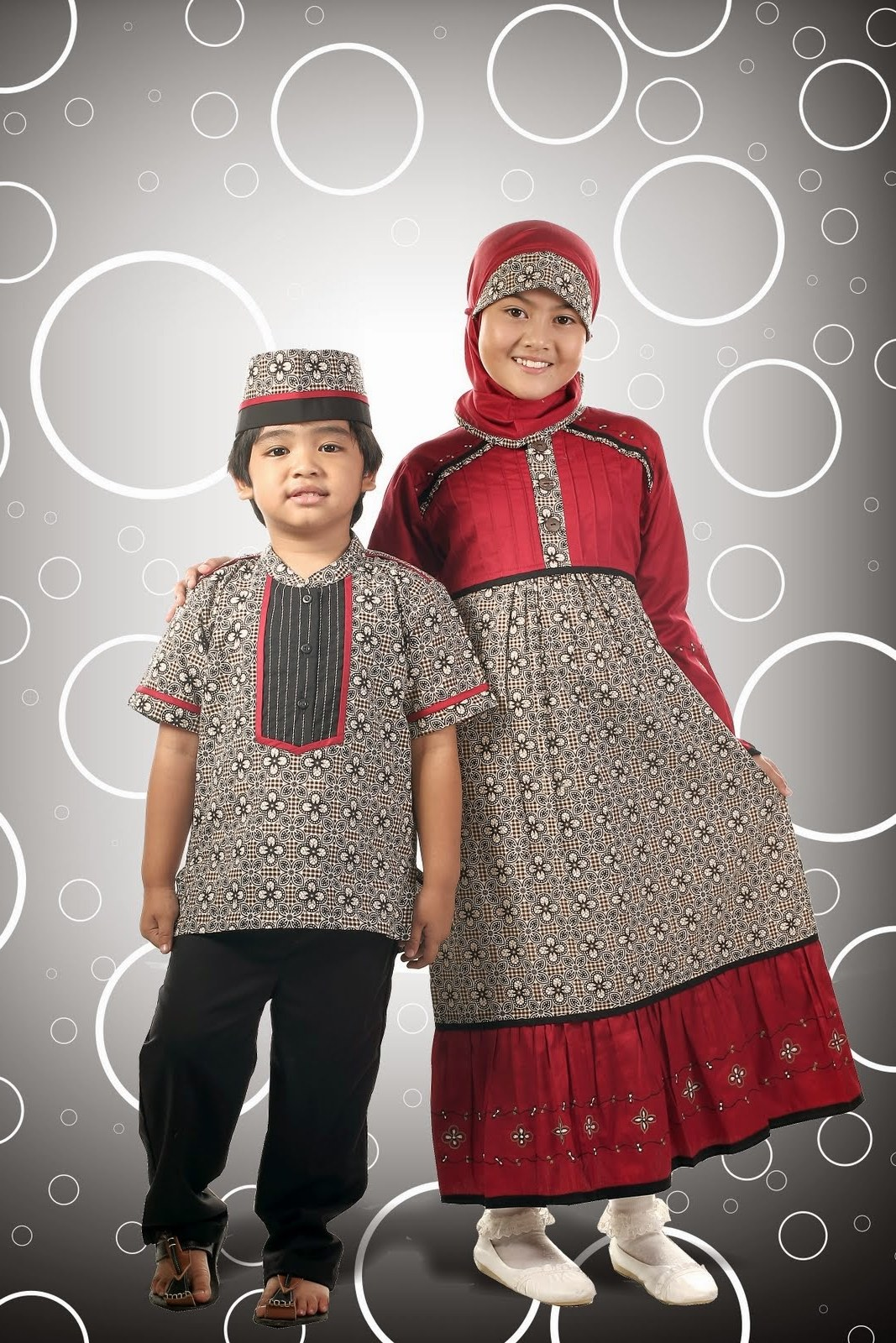 Ide Baju Lebaran Untuk Laki Laki 9fdy Model Baju Batik Muslim Terbaru Untuk Anak Perempuan Dan