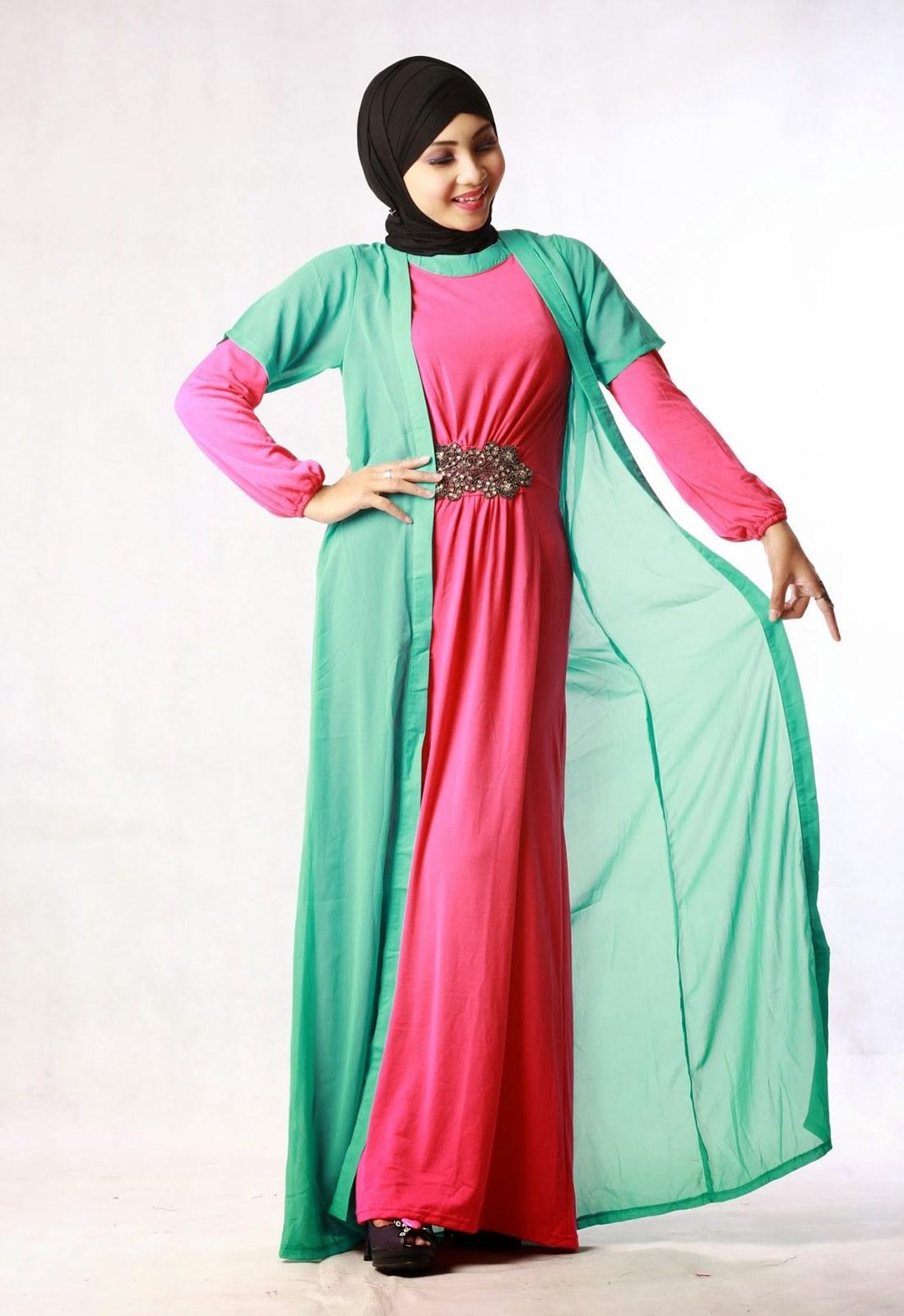 Ide Baju Lebaran Untuk orang Tua Budm 8 Model Baju Muslim Untuk orang Gemuk Yang Pas