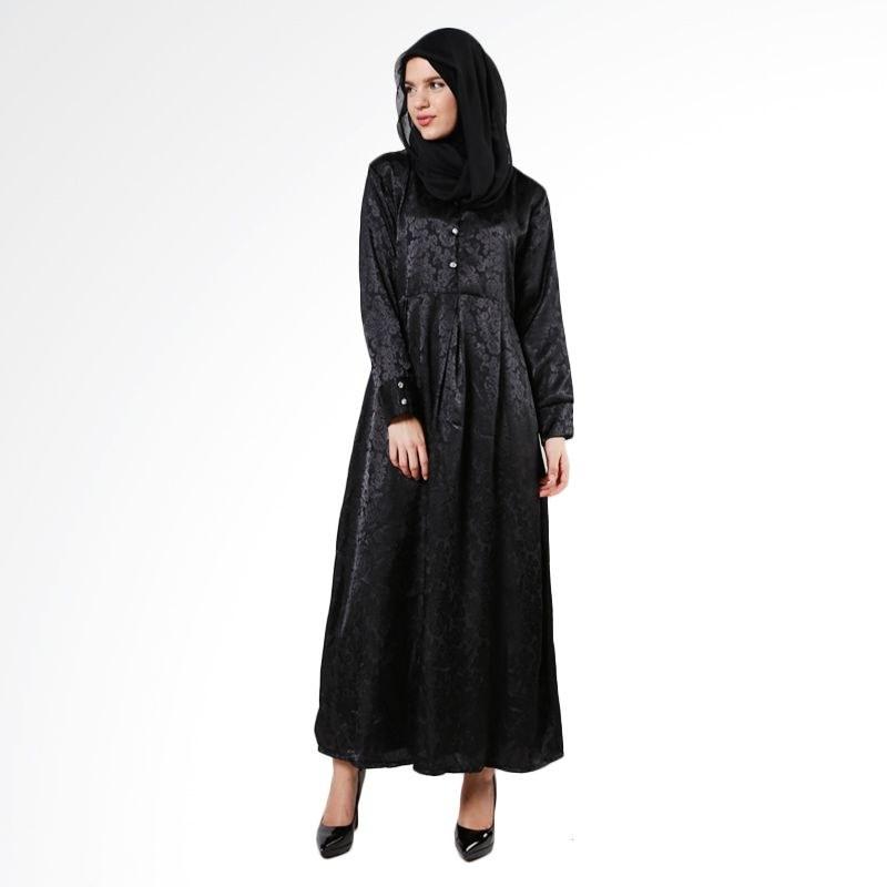 Ide Baju Lebaran Warna Hitam 3ldq Style Hijab 2016 Fashion Modis Anggun Dan Menawan