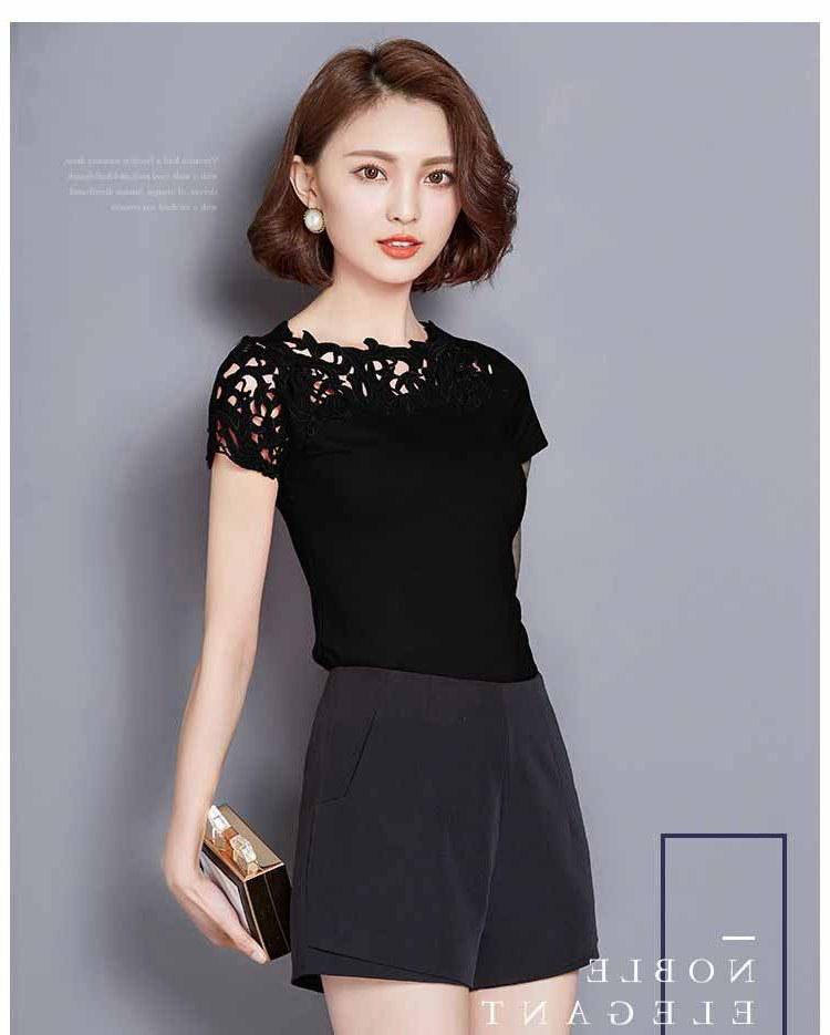 Ide Baju Lebaran Warna Hitam O2d5 Baju atasan Wanita Warna Hitam 2017