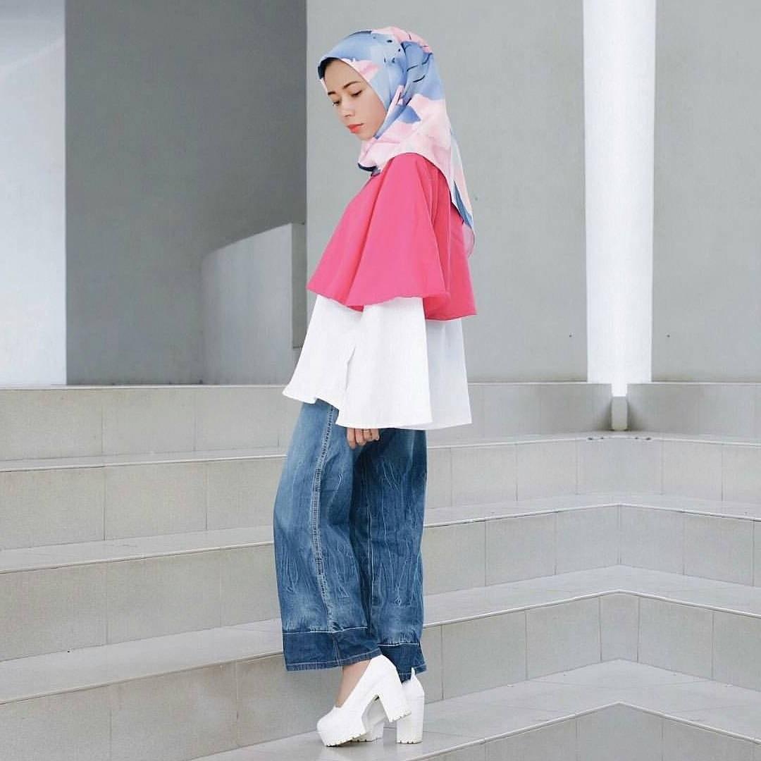 Ide Fashion Muslim Remaja 4pde 17 Koleksi Fashion Baju Hijab Remaja 2018 Gaya Masa Kini