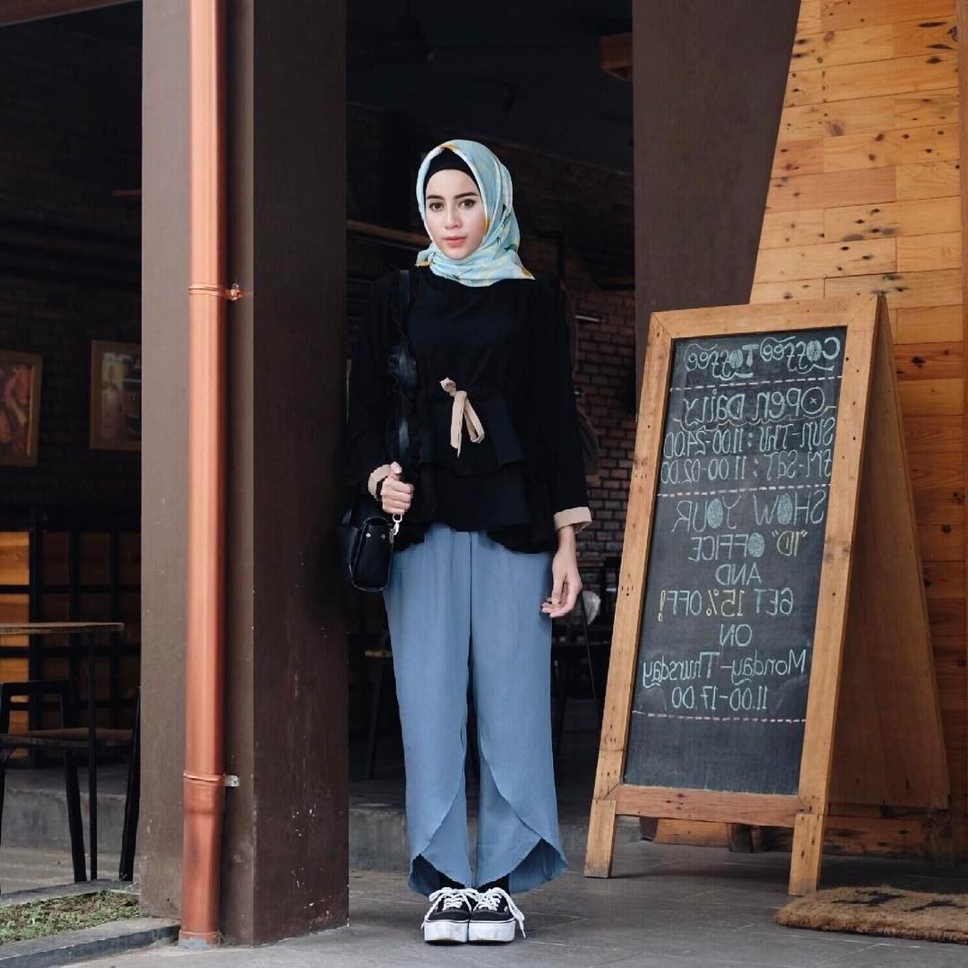 Ide Fashion Muslim Remaja Fmdf 15 Trend Gaya Fashion Hijab Remaja Masa Kini