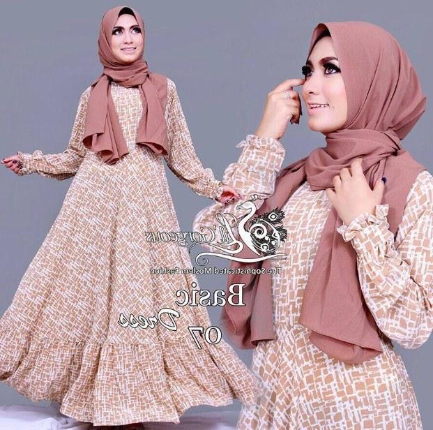 Ide Fashion Muslim Terbaru 9fdy Model Fashion Terbaru Pakaian Muslim Wanita 2016 Model