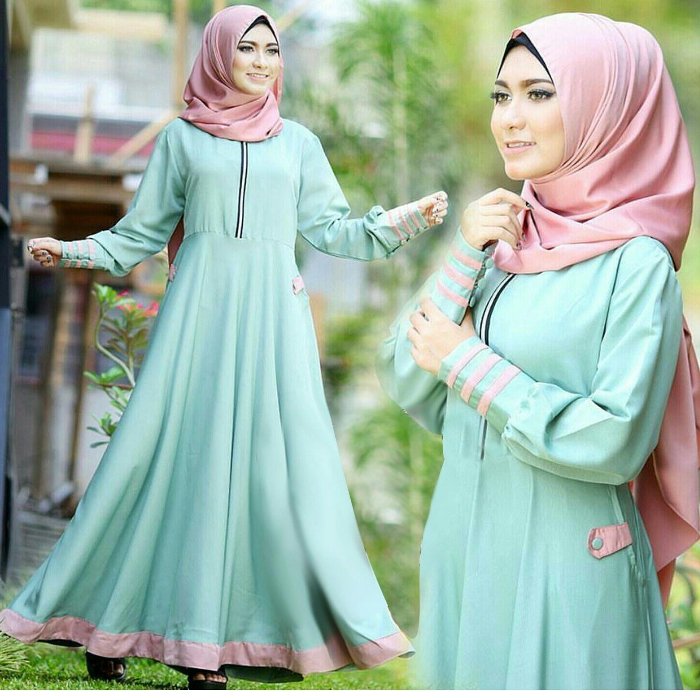 Ide Fashion Muslim Terbaru Ffdn Gamis Terbaru Baju Muslim Wanita Modern Desain Cantik