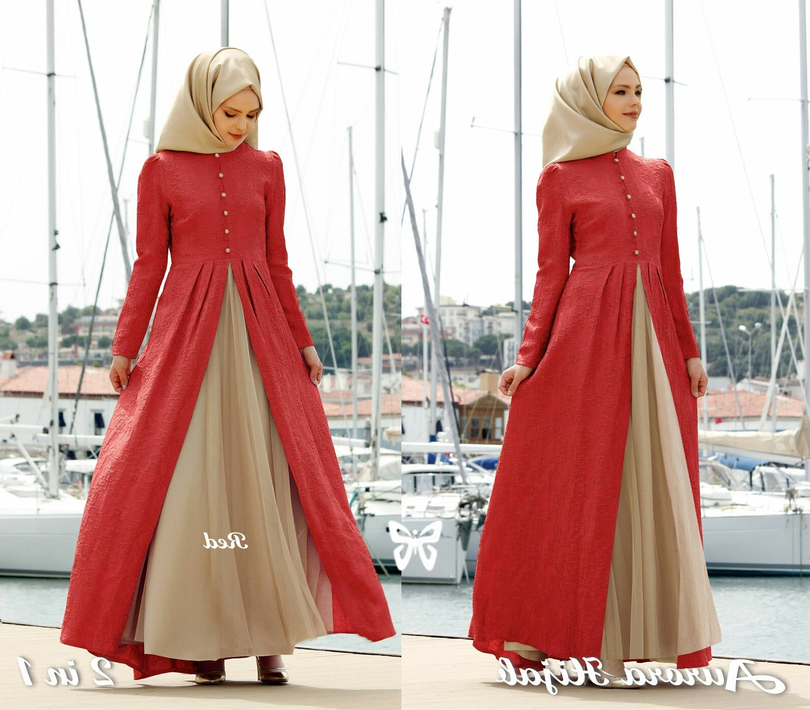 Ide Fashion Muslim Terbaru O2d5 Model Gamis Baju Muslim Fashion Hijab Terbaru Setelan