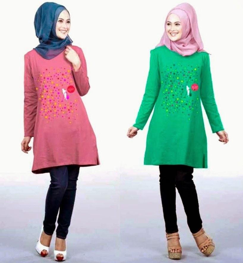 Ide Fashion Muslim Terbaru S5d8 Model Terbaru Baju Muslim Fashion Style 2015