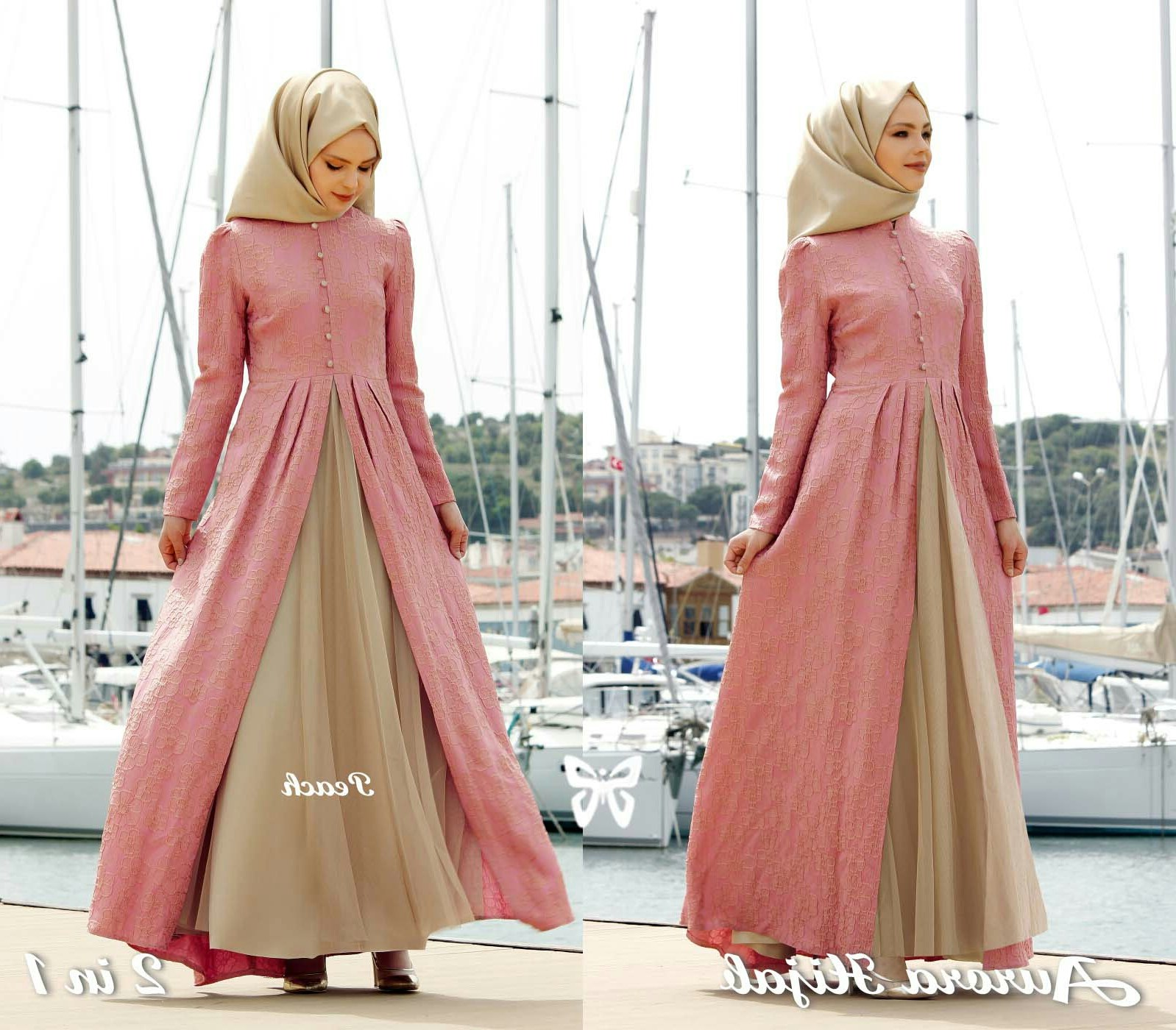 Ide Fashion Muslim Terbaru Wddj Model Gamis Baju Muslim Fashion Hijab Terbaru Setelan
