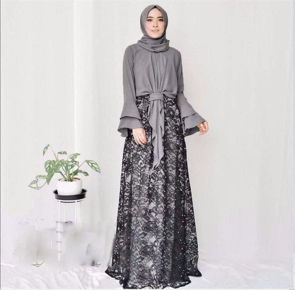 Ide Fashion Muslim Terbaru Zwdg Jual Setelan Hijab Fashion Baju Muslim Wanita Terbaru