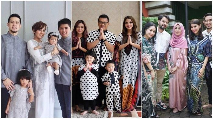 Ide Model Baju Lebaran Artis Dddy 15 Potret Kekompakan Keluarga Artis Saat Rayakan Hari Raya