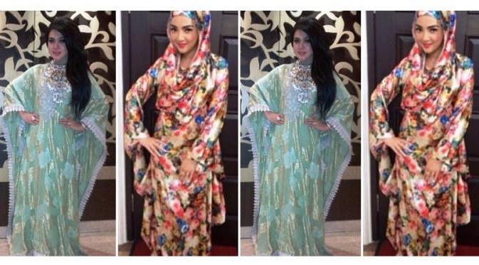 Ide Model Baju Lebaran Artis Nkde Trend Baju Lebaran 2014 Model Baju Muslim Artis Jadi