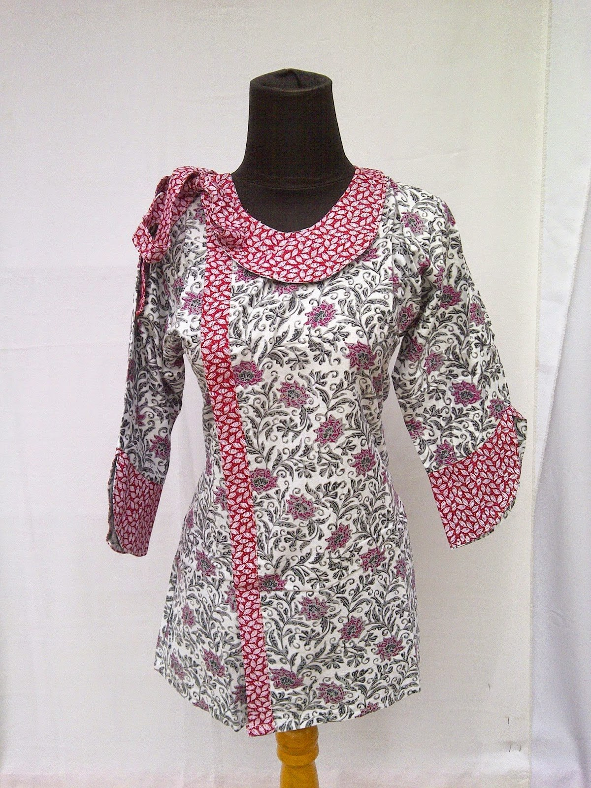 Ide Model Baju Lebaran atasan Etdg Model Baju Muslim atasan Wanita Trendy Terbaru