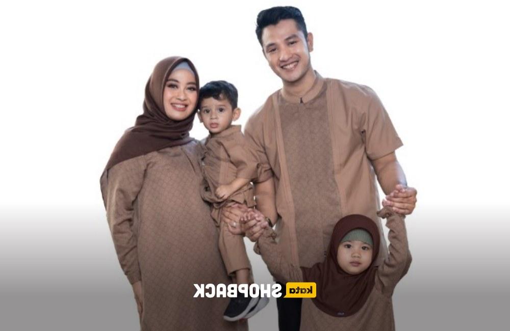 Ide Model Baju Lebaran Keluarga 2020 9ddf 10 Inspirasi Model Baju Lebaran Keluarga 2020 Yang Serba