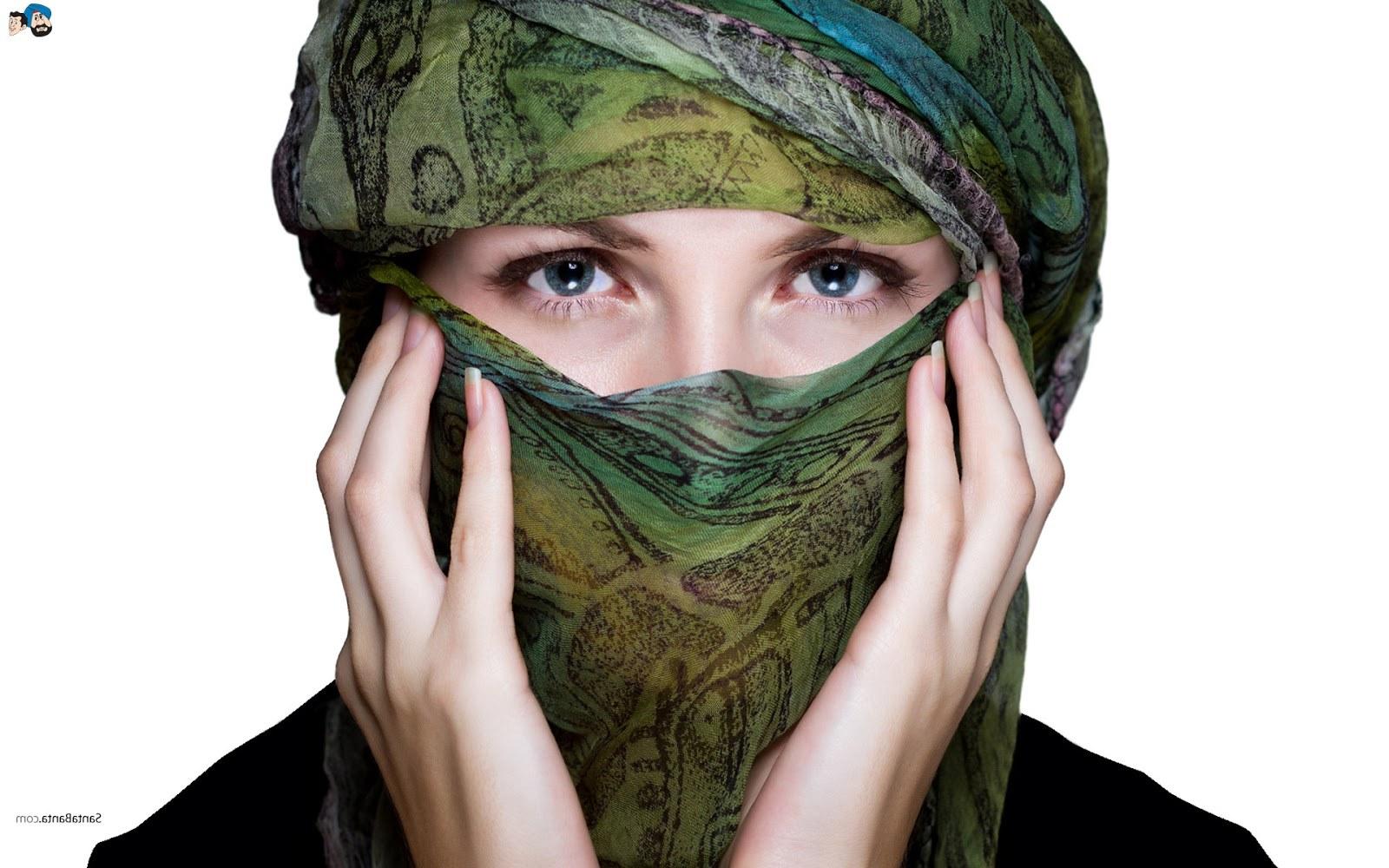 Ide Muslimah Bercadar Dwdk Koleksi Wallpaper Wanita Muslimah Bercadar Fauzi Blog