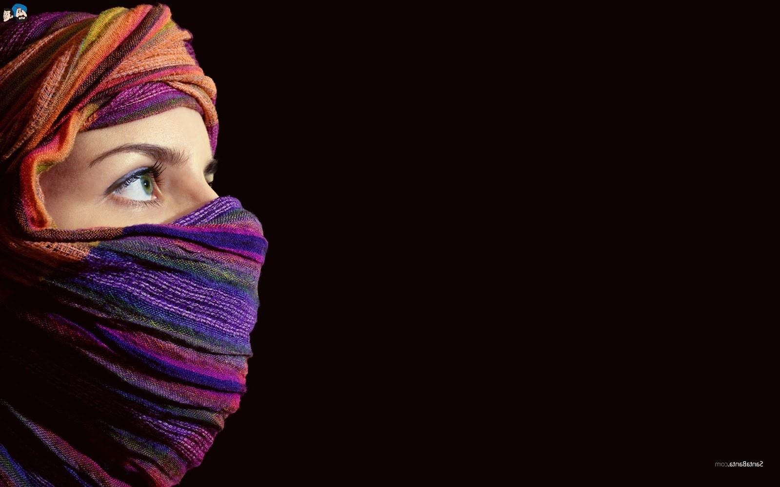 Ide Muslimah Bercadar Kvdd Koleksi Wallpaper Wanita Muslimah Bercadar Fauzi Blog