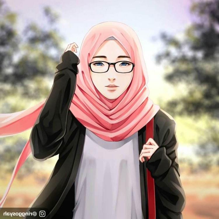 Ide Muslimah Bercadar Menangis Dddy 300 Gambar Kartun Muslimah Bercadar Cantik Sedih Keren
