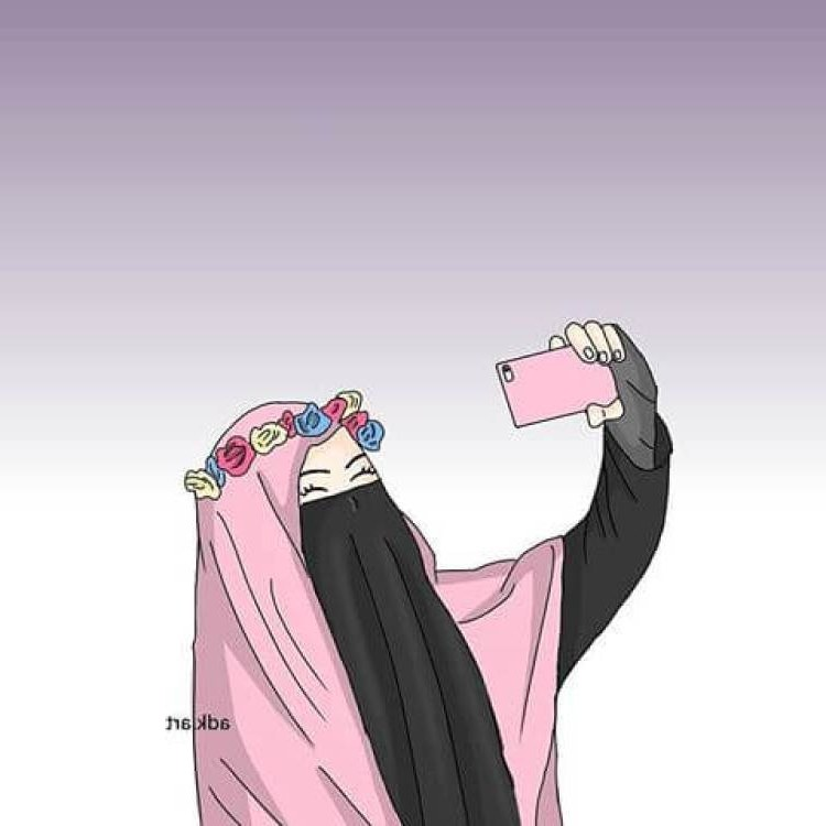 Ide Muslimah Bercadar Menangis Whdr Gambar Wanita Bercadar Kartun Menangis