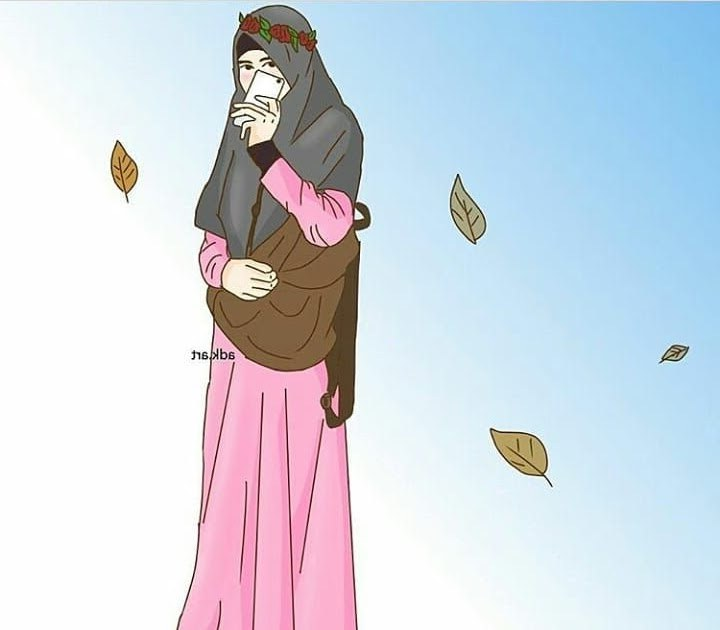 Ide Muslimah Kartun Keren Whdr Gambar Kartun Muslimah Keren Koleksi Gambar Hd