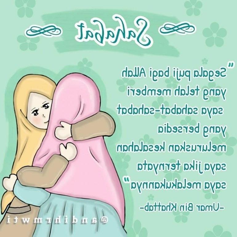 Ide Muslimah Kartun Sahabat 3ldq 65 Gambar Kata Kata Sahabat Sejati Selamanya Lucu