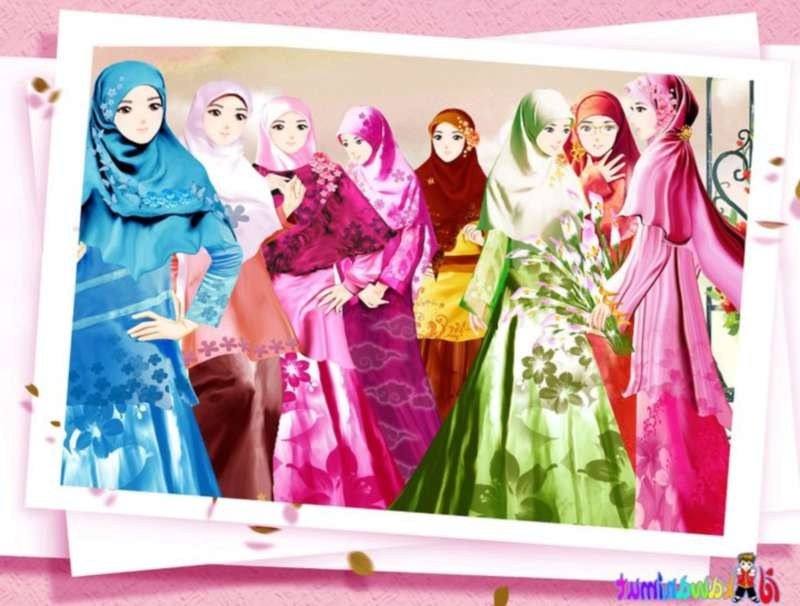 Ide Muslimah Kartun Sahabat Etdg 12 Kartun Persahabatan Muslimah Anak Cemerlang