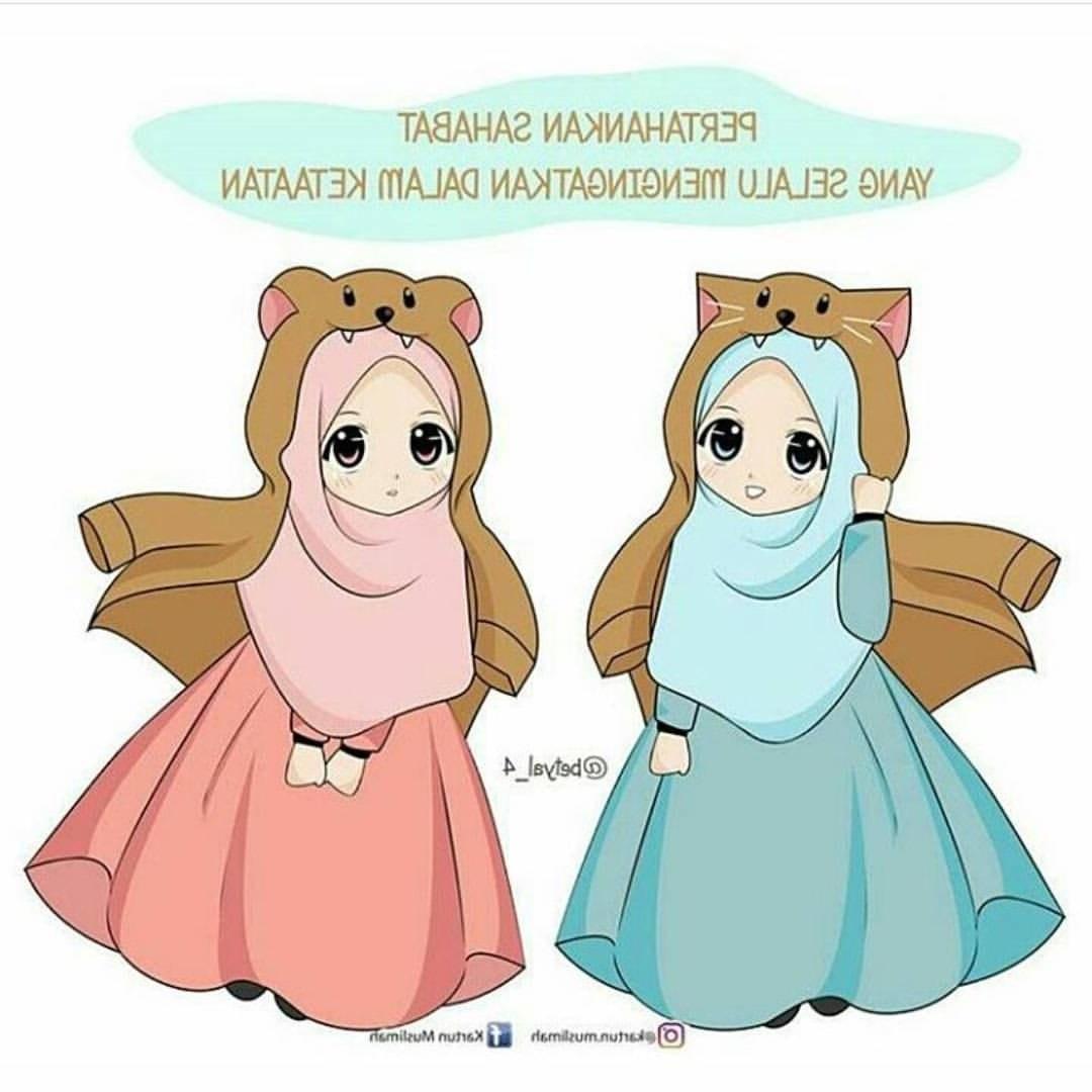 Ide Muslimah Kartun Sahabat J7do Gambar Kartun Muslimah Sahabat Sejati