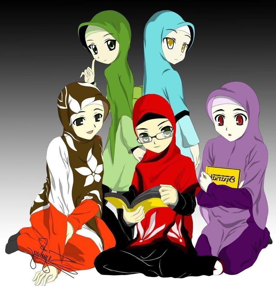 Ide Muslimah Kartun Sahabat Q0d4 Kartun Sahabat Muslimah Ama S Note