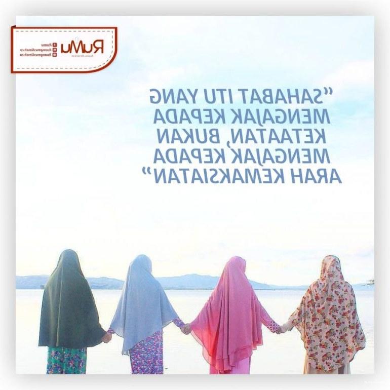 Ide Muslimah Kartun Sahabat Tldn 65 Gambar Kata Kata Sahabat Sejati Selamanya Lucu