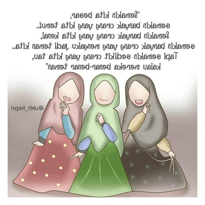 Ide Muslimah Kartun Sahabat U3dh Gambar Kartun Muslimah Sahabat 3 orang