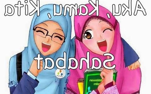 Ide Muslimah Kartun Sahabat X8d1 Kartun Sahabat Muslimah Ama S Note