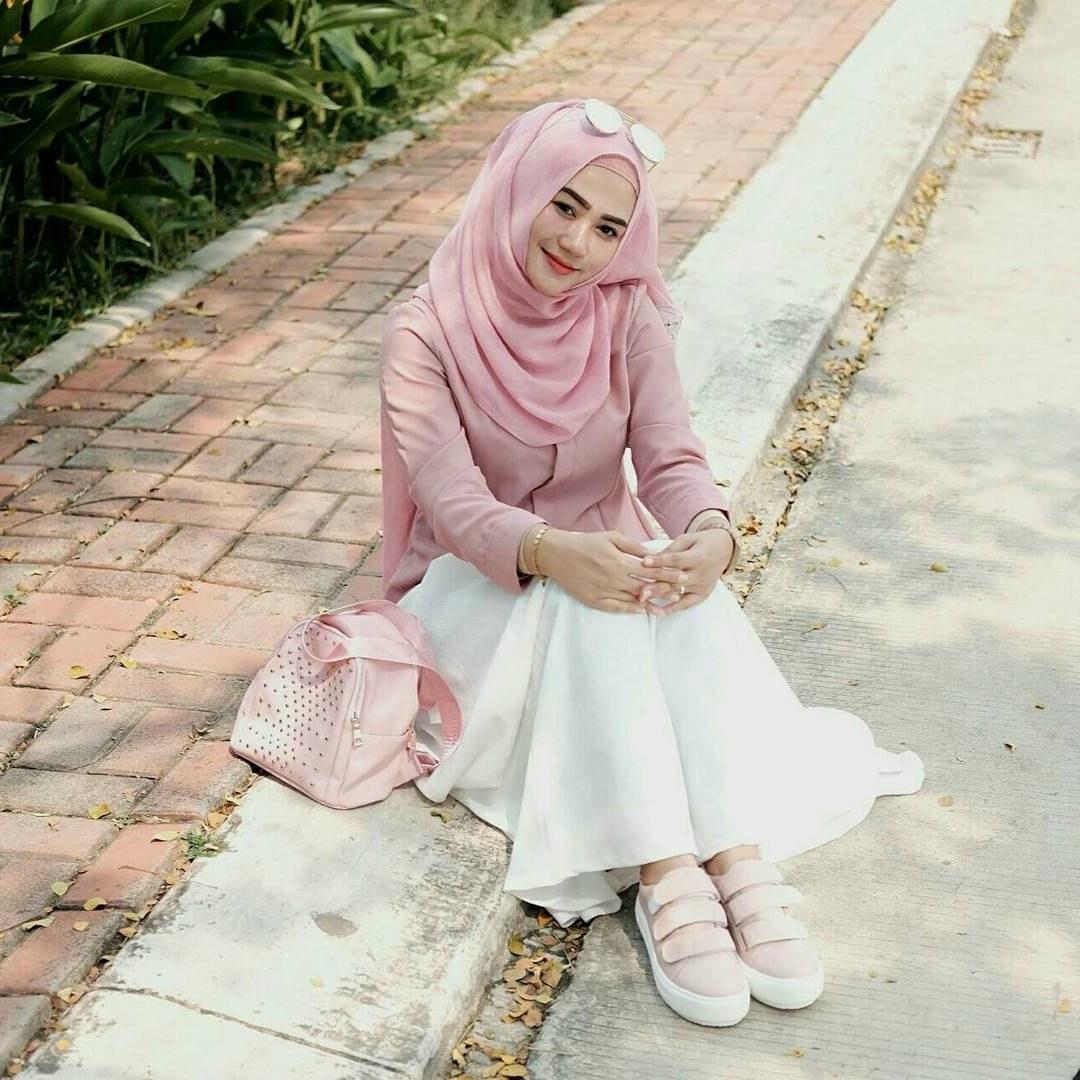 Ide Ootd Baju Lebaran D0dg 20 Trend Model Baju Muslim Lebaran 2018 Casual Simple Dan