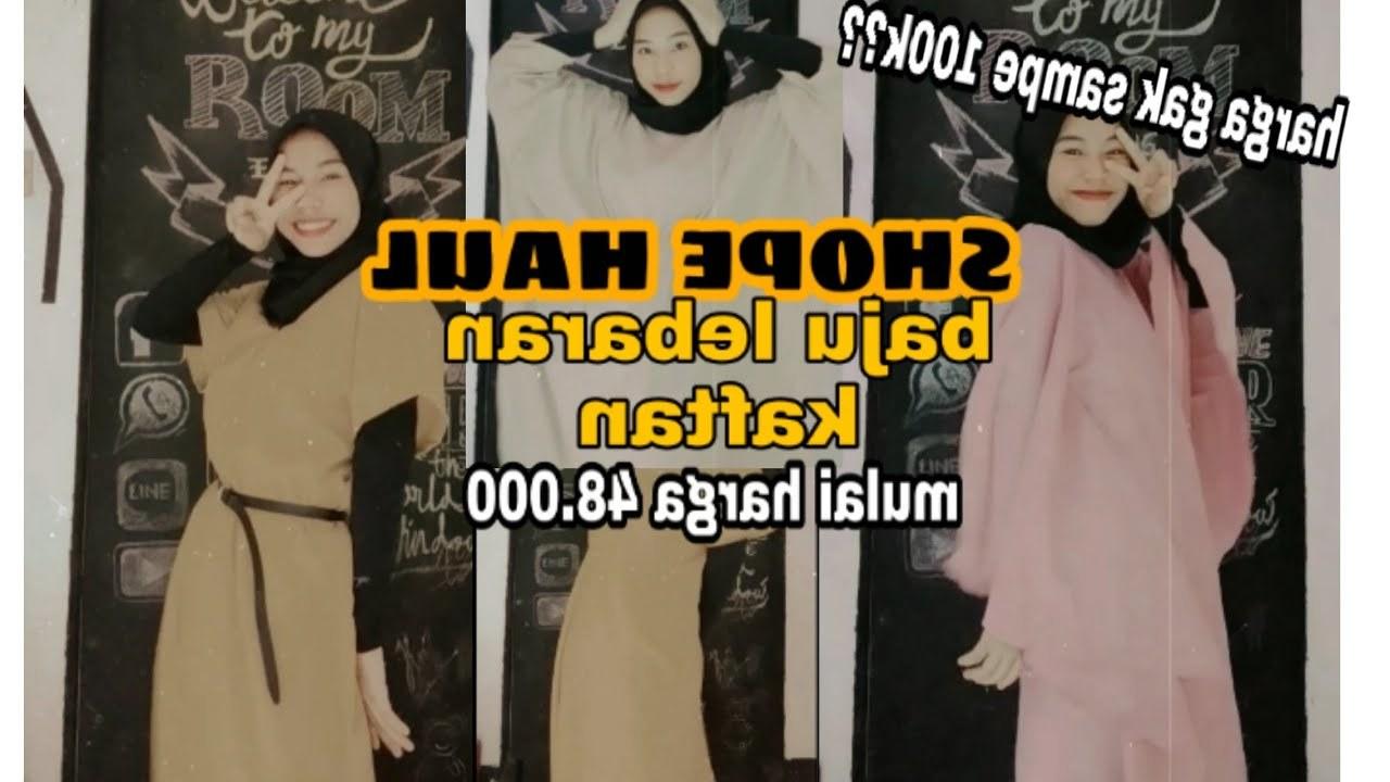 Ide Rekomendasi Baju Lebaran 2020 H9d9 Shopee Haul Baju Lebaran Murah 2020