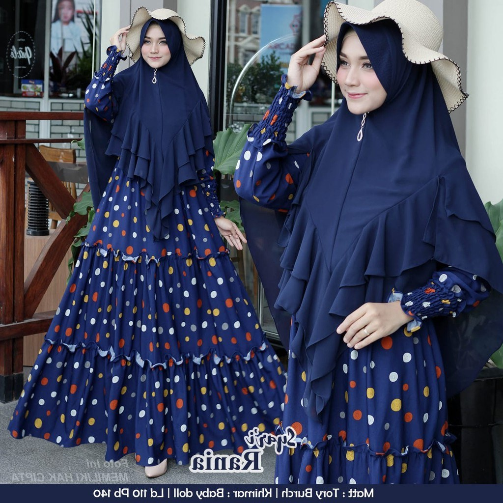 Ide Rekomendasi Baju Lebaran 2020 Y7du Model Baju Gamis Lebaran 2020 Rania Gamisalya